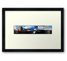 lane mashup Framed Print