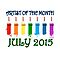 Artist of the month - JULY 2015