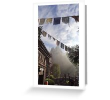 Misty Mount Everest Greeting Card