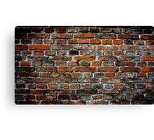Bavarian Bricks Canvas Print