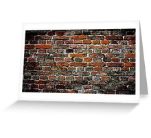 Bavarian Bricks Greeting Card