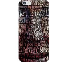 WordFace iPhone Case/Skin