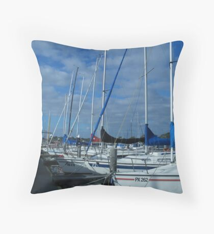 Leisure Cruisers at rest © Throw Pillow