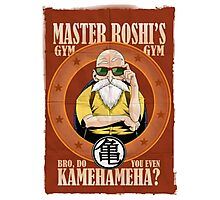 Master Roshi's Gym Photographic Print