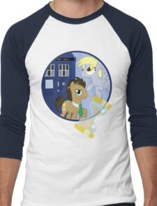 The Doctor and the Assistant  Men's Baseball ¾ T-Shirt