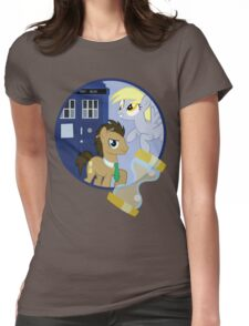 The Doctor and the Assistant  Womens Fitted T-Shirt
