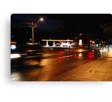 Blood on the streets Canvas Print