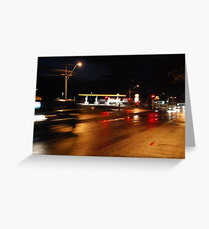 Blood on the streets Greeting Card