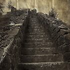 stairway to... by Rita Iszlai