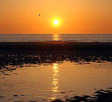 A sunset poem by Adri  Padmos