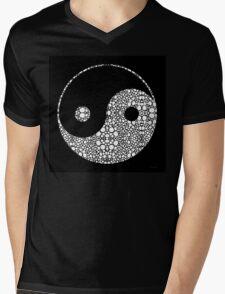 Perfect Balance 2 - Yin and Yang Stone Rock'd Art by Sharon Cummings Mens V-Neck T-Shirt