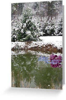 snowy reflections by LoreLeft27