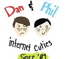 Dan & Phil: Internet Cuties Print by thatchickcj