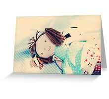 Girls and boys? Greeting Card