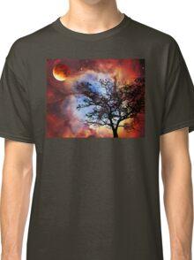 Night Sky Landscape Art By Sharon Cummings Classic T-Shirt