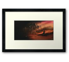 Before The Light Framed Print