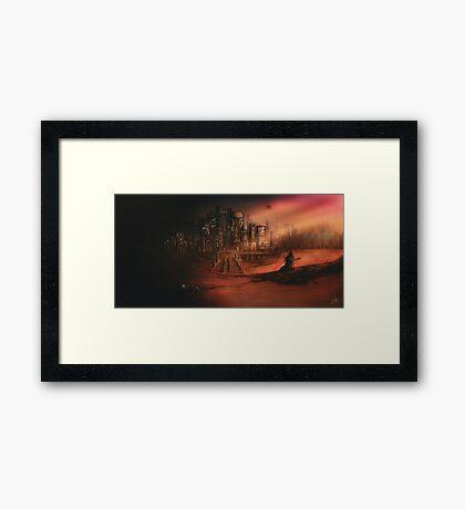 Before The Light Framed Print