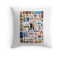 Walt Disney Animation Studios Throw Pillow
