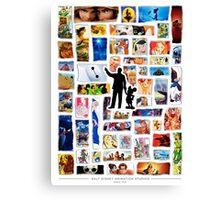 Walt Disney Animation Studios Canvas Print