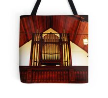 Church Organ Tote Bag