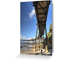 Catherine Hill Bay Jetty No.2  Greeting Card