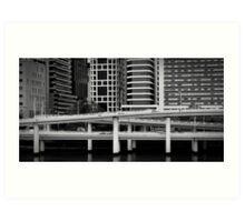 Freeway - Brisbane Art Print