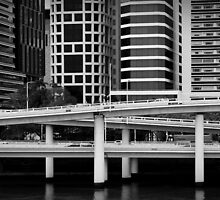 Freeway - Brisbane by Shannon O'Brien