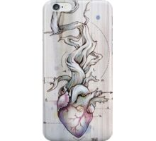 Driftwood Heart 02 iPhone Case/Skin
