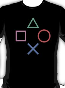 Playstation Buttons Formation T-Shirt