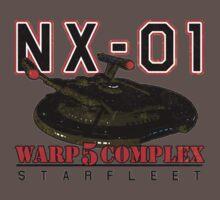 Warp 5 Complex NX-01 Full Back Kids Clothes
