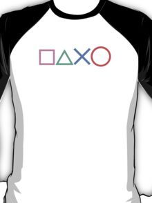Playstation Buttons T-Shirt