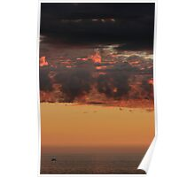 Sunset Layers Poster