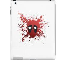 Dead Pool Splatter iPad Case/Skin