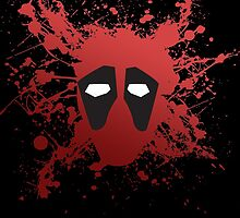 Dead Pool Splatter by HenryBourke767