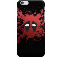 Dead Pool Splatter iPhone Case/Skin