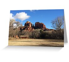 Boynton Canyon, Arizona Red Rock Country Greeting Card
