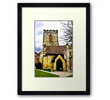 Holy Trinity Church - Goodramgate,York Framed Print