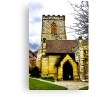 Holy Trinity Church - Goodramgate,York Canvas Print