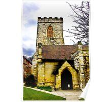 Holy Trinity Church - Goodramgate,York Poster