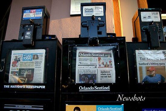 Newsbots by JpPhotos