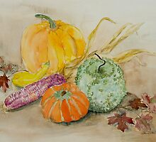 Fall Still Life by Donav