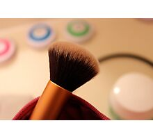 Makeup Brush Photographic Print
