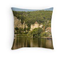 La Roque-Gageac  Throw Pillow