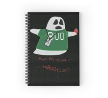 Stanley the Computer Programming Ghost Spiral Notebook