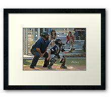 Stance Framed Print