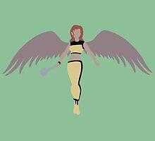 Hawkgirl by karlaestrada