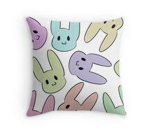 bunnies! Throw Pillow