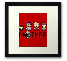 Mother Gang Framed Print
