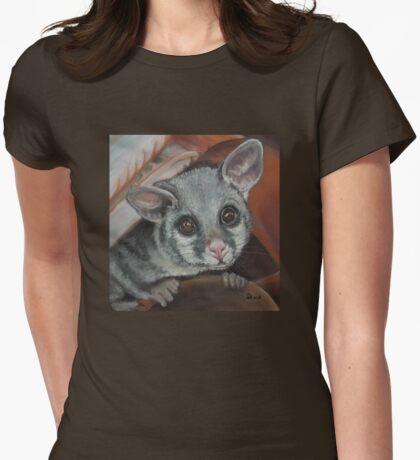 Hello Possum Womens Fitted T-Shirt