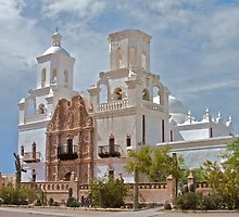 Mission San Xavier del Bac by noffi